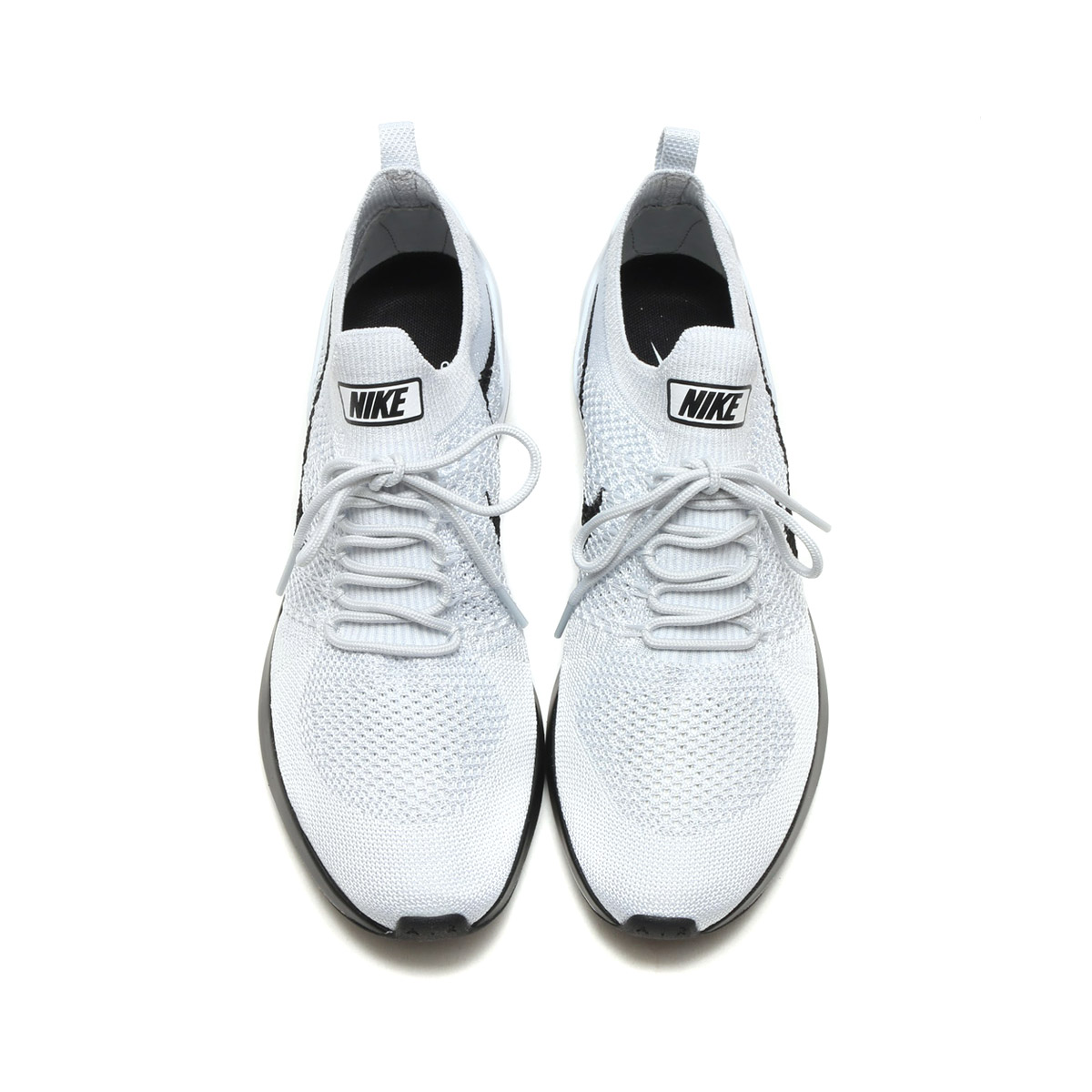 size 40 0c412 f76b6 NIKE AIR ZOOM MARIAH FLYKNIT RACER (Nike air zoom Maria fly knit racer) (PURE  PLATINUM WHITE) 17FA-S