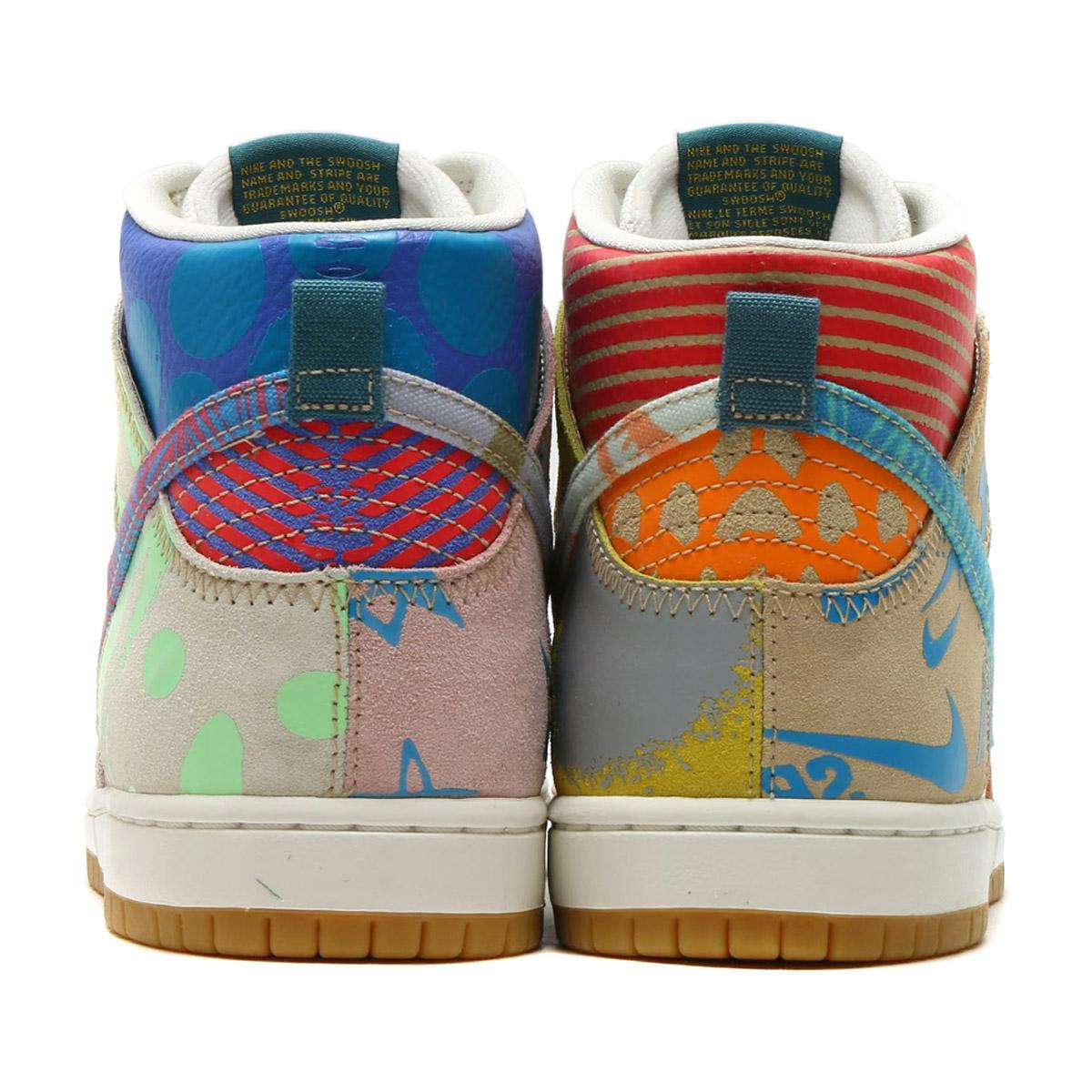 buy online 84a39 fe4af NIKE SB ZOOM DUNK HIGH PREM (Nike Nike SB zoom dunk high premium) (ICED JADE  CIRCUIT ORANGE-SAIL) 17FA-S