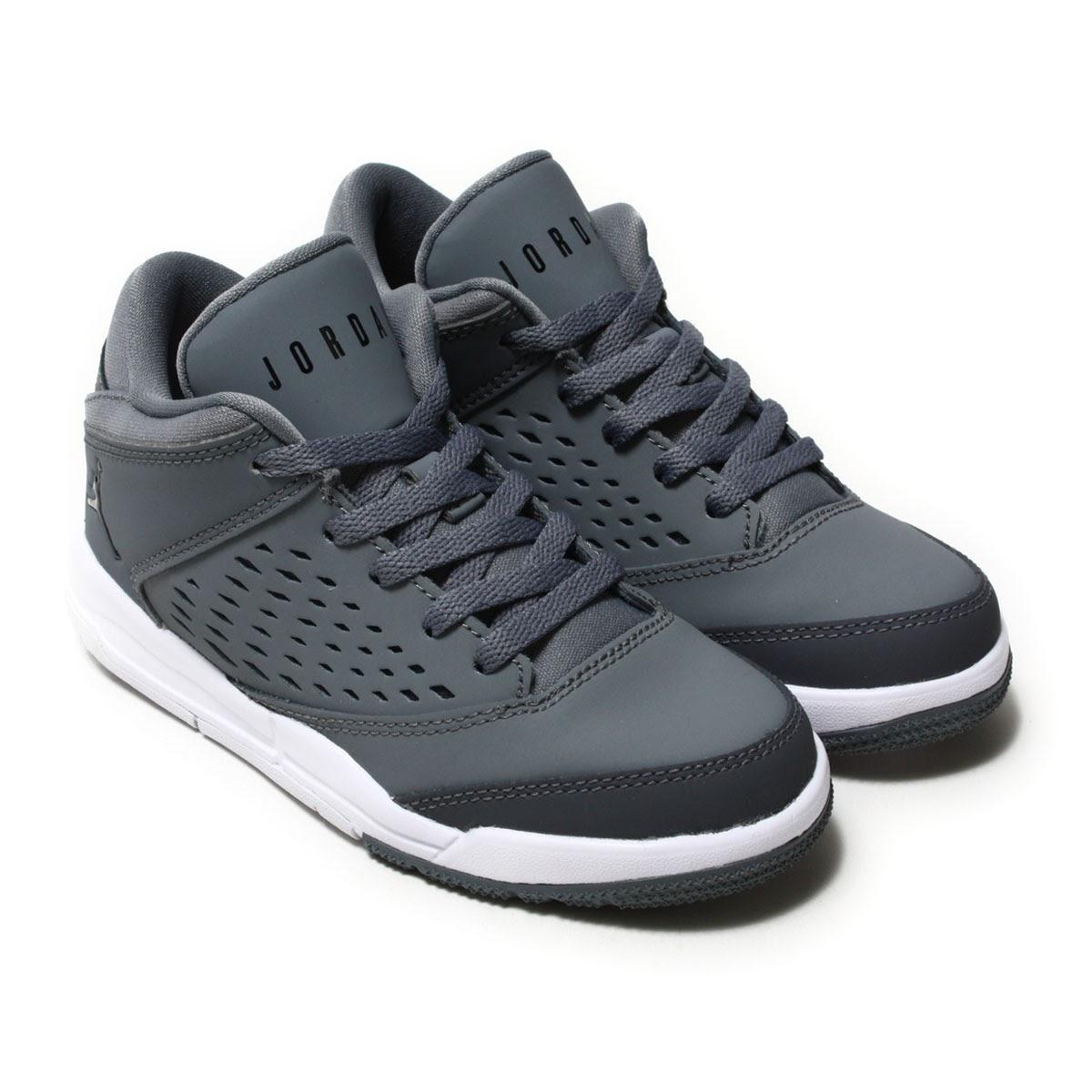 ba1e3ba7981 NIKE JORDAN FLIGHT ORIGIN 4 BP (Nike Jordan flight origin 4 BP) COOL GREY  ...