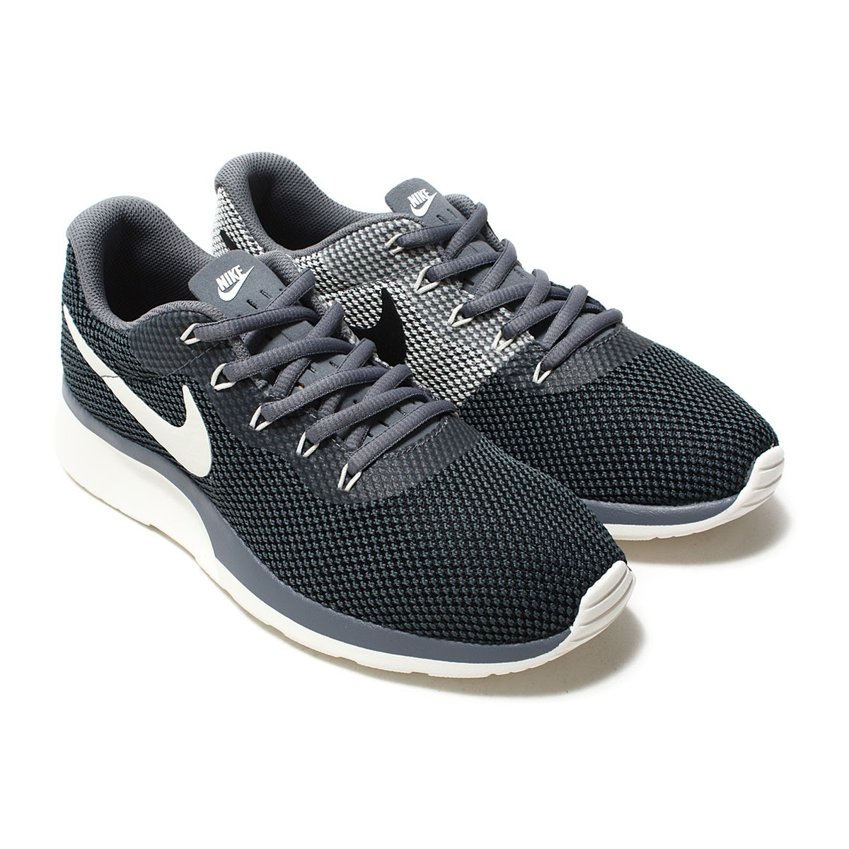 716f9d667cc76 NIKE WMNS TANJUN RACER (Nike women tongue Jun racer) COOL GREY/SAIL- ...