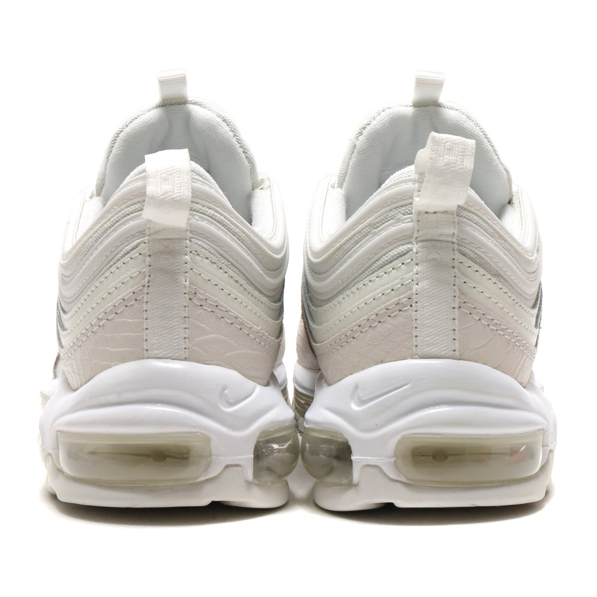 NIKE AIR MAX 97 (나이키 에어 막스 97) (SUMMIT WHITE/SUMMIT WHITE) 17 FA-S
