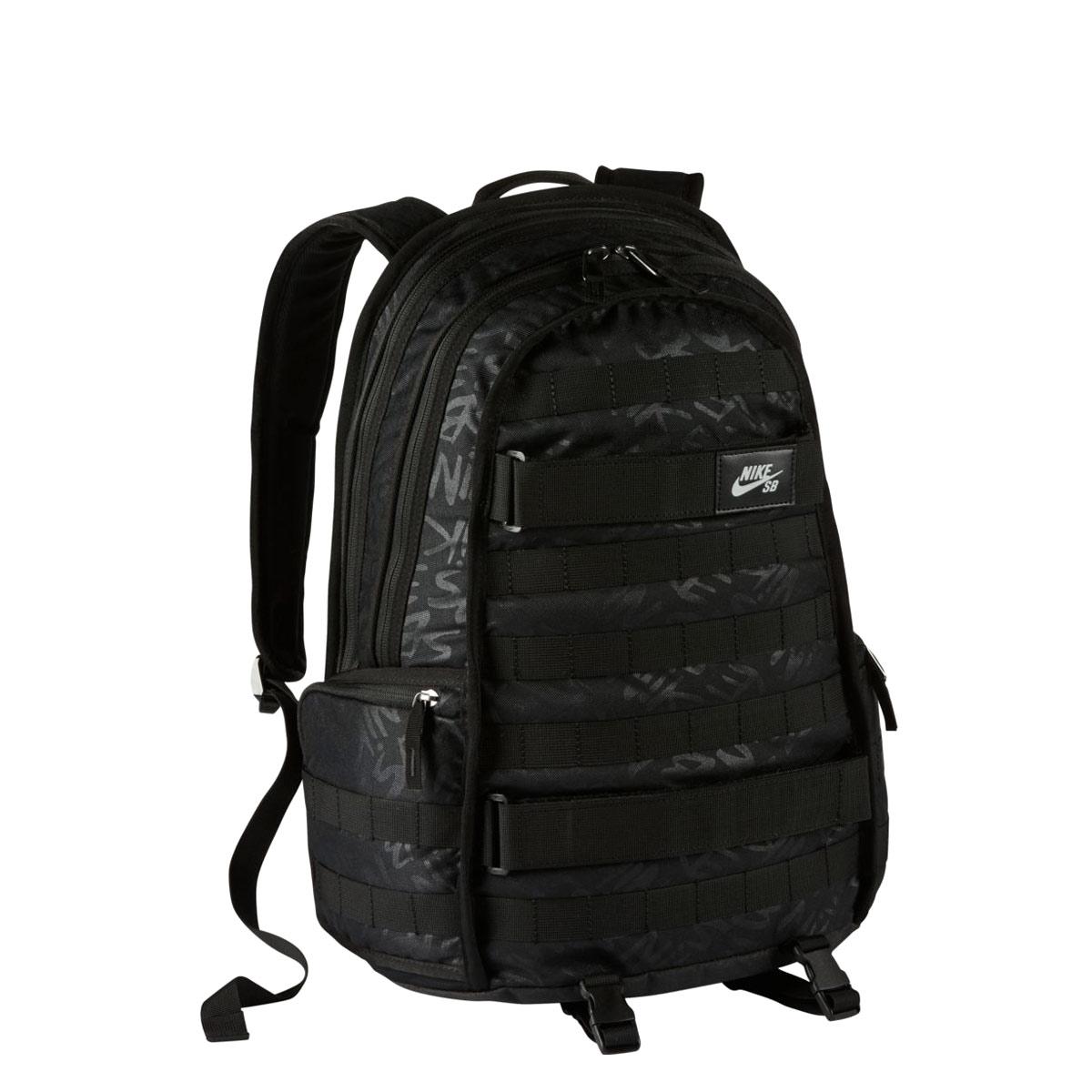 179ace4bfebd NIKE NK SB RPM BKPK - AOP (Nike SB PRM graphic backpack) BLACK BLACK BLACK  17FA-I
