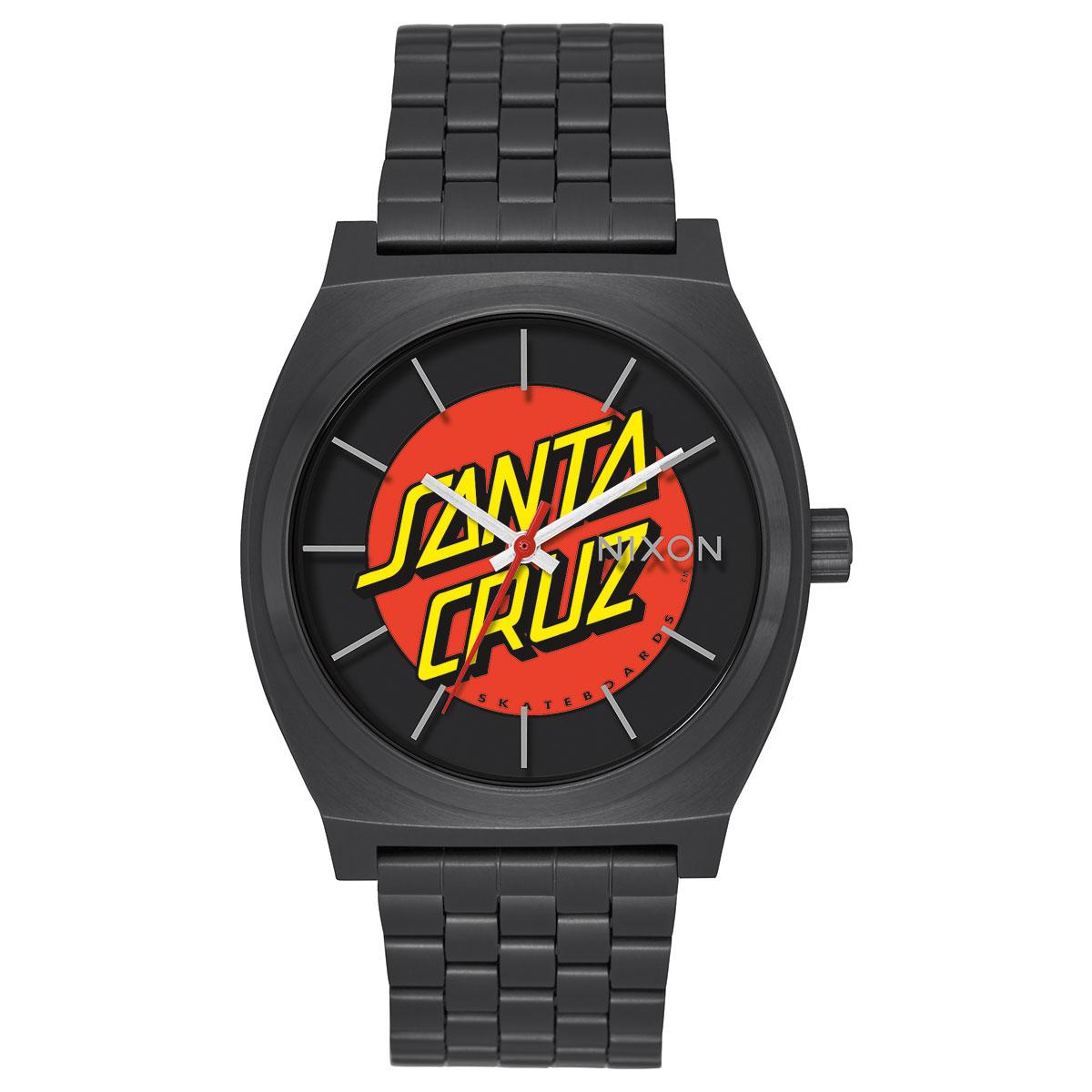 NIXON TIME TELLER(ニクソン タイム テラー サンタクルーズ)BLACK/SANTA CRUZ【メンズ レディース 腕時計】17HO-I