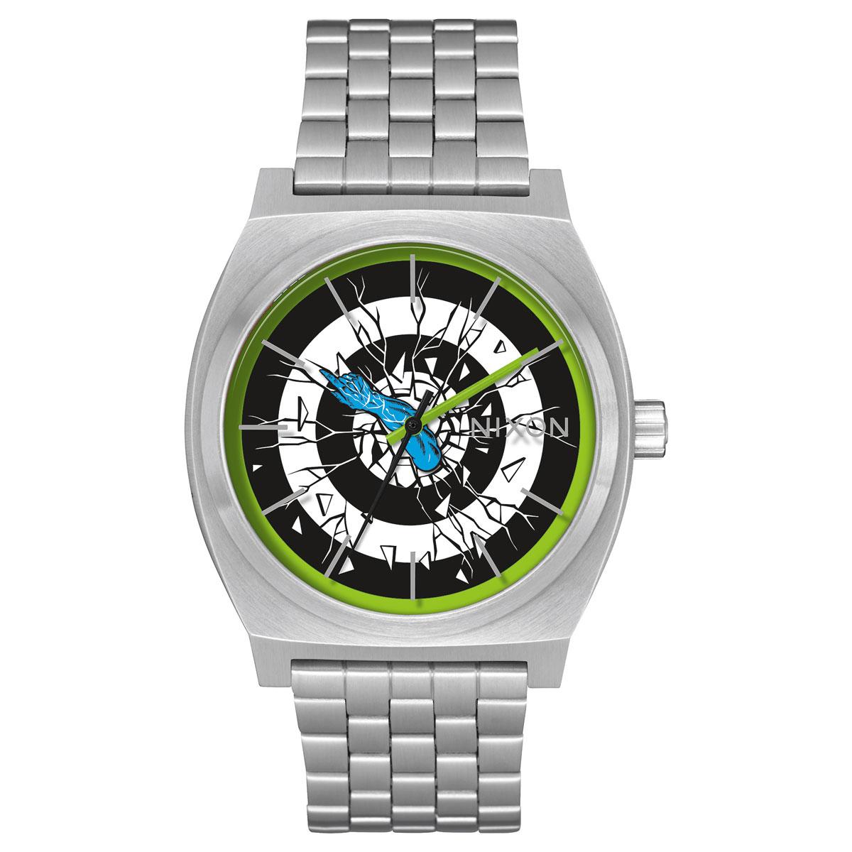 NIXON TIME TELLER(ニクソン タイム テラー ロスコップ)SILVER/ROSKOPP【メンズ レディース 腕時計】17HO-I