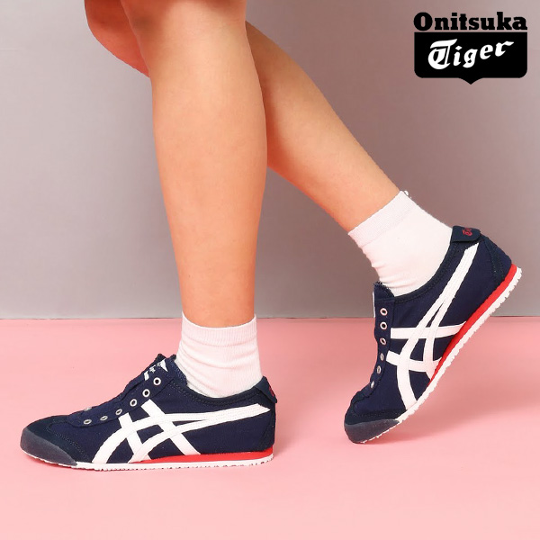 brand new 1aede dd129 asics onitsuka tiger mexico 66 deep navy visa sneakeroutlet