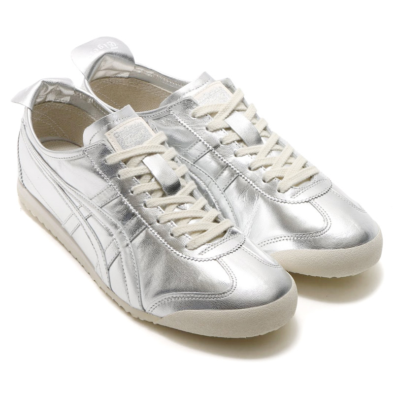 sports shoes b2581 a63d7 onitsuka mexico 66 silver
