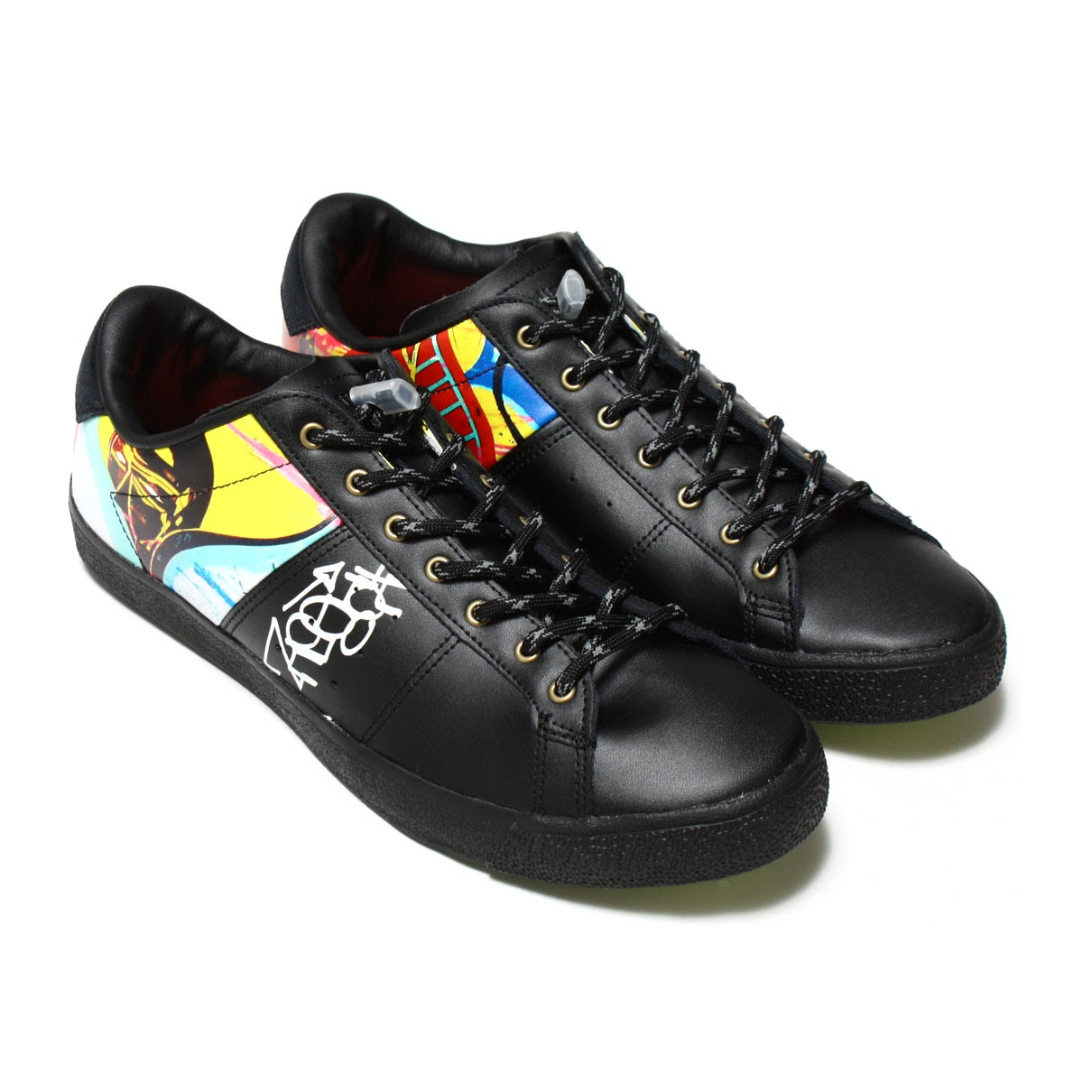 Onitsuka Tiger LAWNSHIP (オニツカタイガー 대출 대표) (TITI FREAK) BLACK 16AW-S
