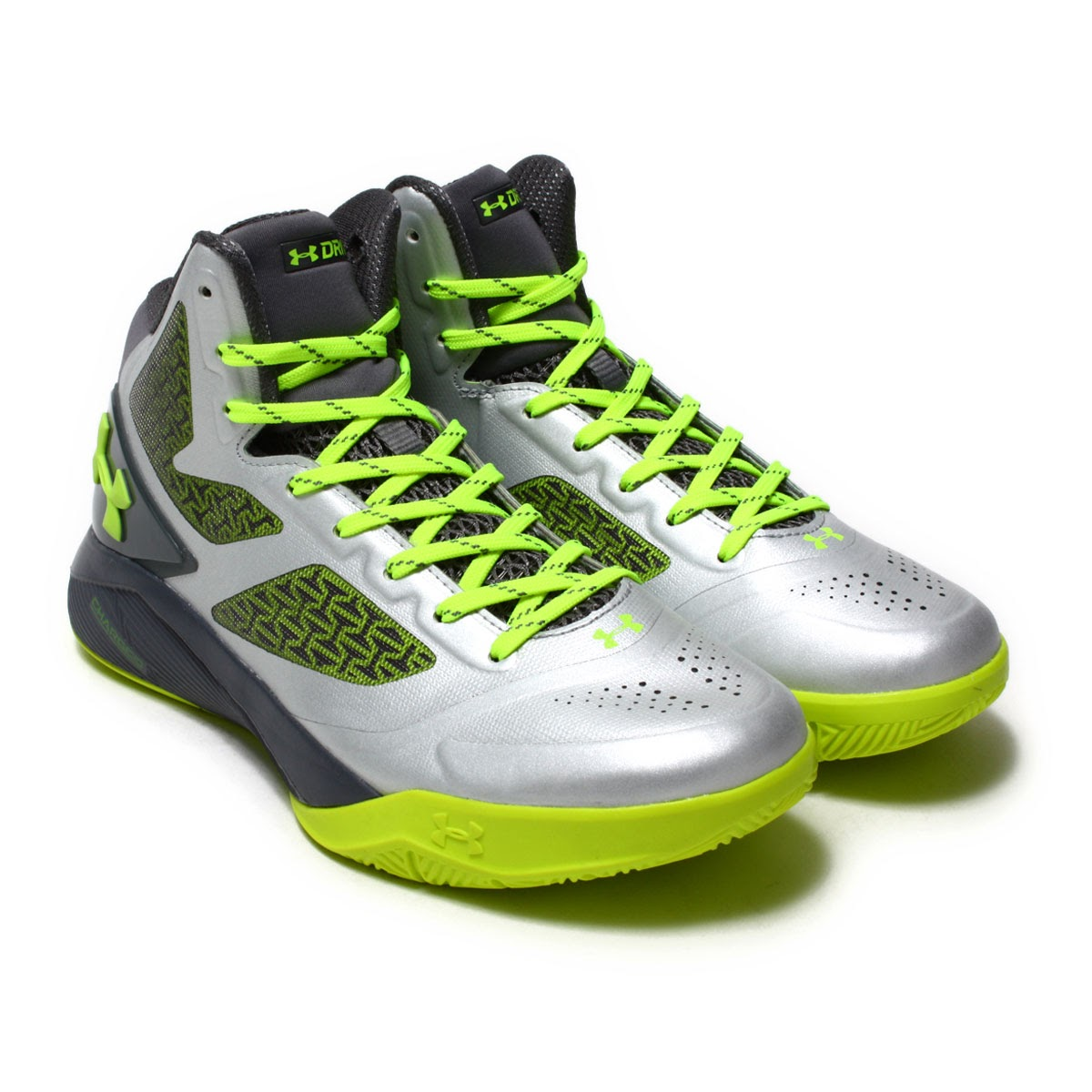 huge discount c07e8 4bbb1 UNDER ARMOUR UA CLUTCHFIT DRIVE 2 (under Armour clutch fitting drive 2)  Metallic Silver 17FA-I