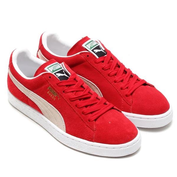 PUMA SUEDE CLASSIC + RED/WHITE
