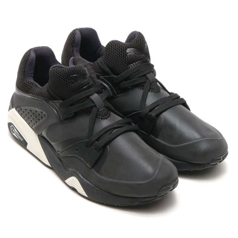 new product 84d86 06561 PUMA BLAZE OF GLORY EMBOSS BF (PUMA brazobglory embossed BF) BLACK 15HO-I