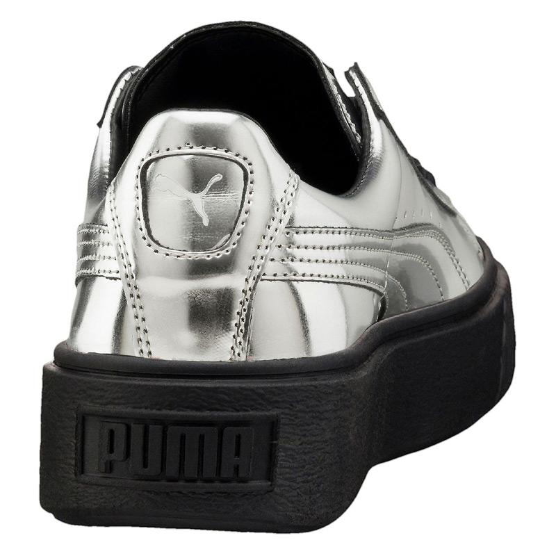 puma basket metallic