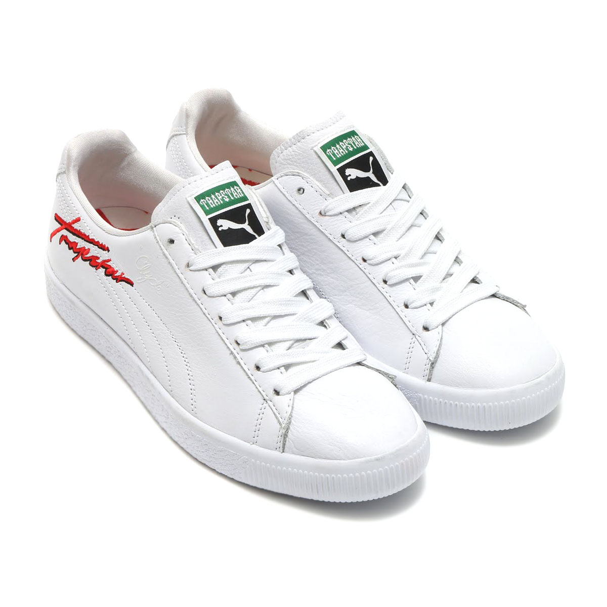 1eacc2ebe9e1 Collaboration Style with TRAPSTAR using CLYDE which is ICON of PUMA. I  express the LOGO that even the collection of