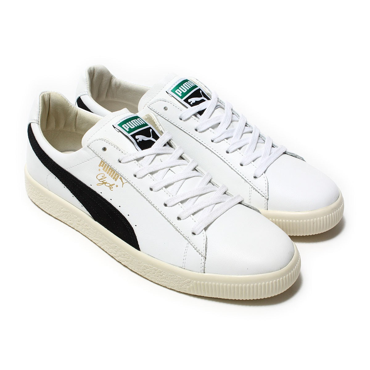 newest collection 63a01 2b8ad PUMA CLYDE AWAY (Puma Clyde away) (PUMA WHITE/ PUMA BLACK) 17SS-I