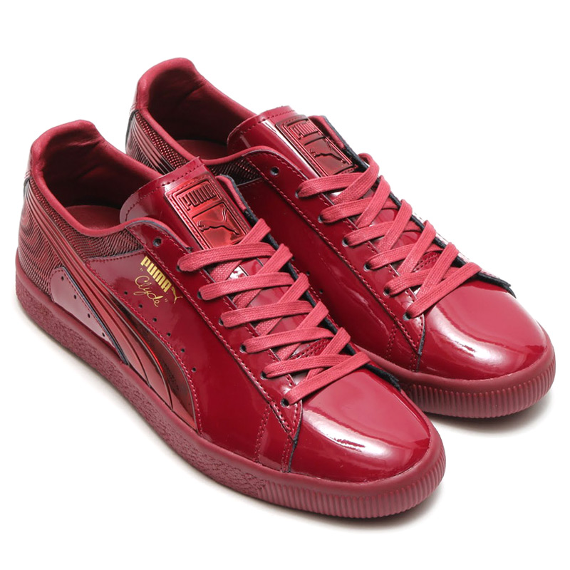 huge discount d6905 52f50 Marathon time store all points up to 20 times! PUMA CLYDE WRAITH (rich PUMA  Clyde) CORDOVAN 16FW-S