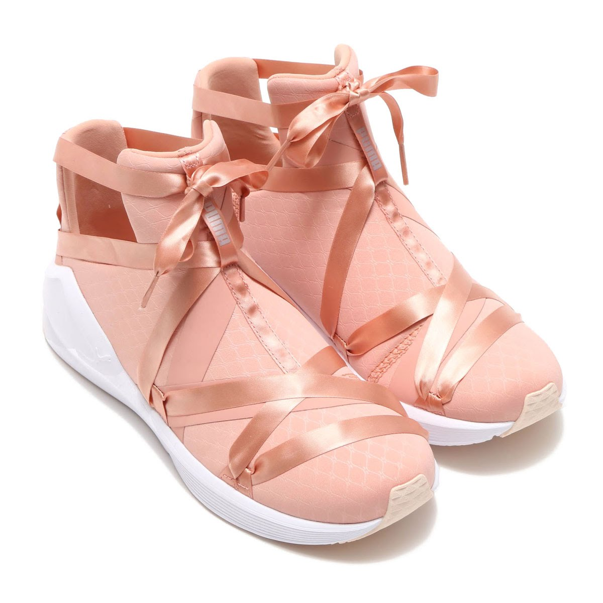 ce636f3fbb3 PUMA FIERCE ROPE SATIN EP WOMENS (プーマフィアースロープサテン EP women) PEACH BEIGE  18SP-I