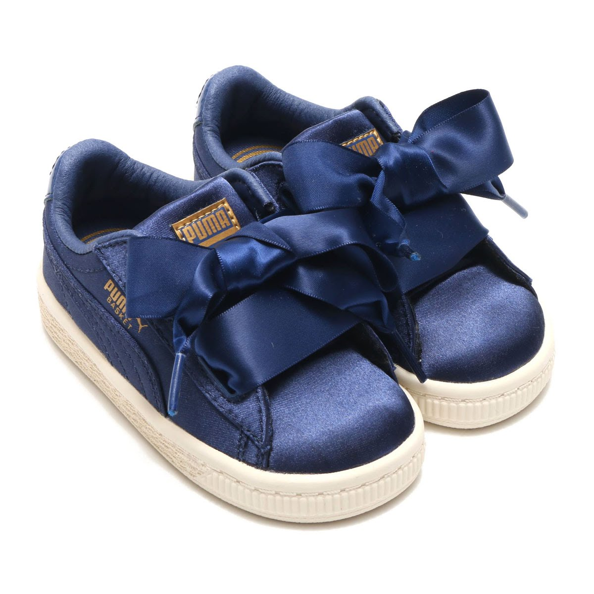 sale retailer 0977c e23b1 PUMA BASKET HEART TWEEN INFANT (プーマバスケットハートトゥイーンインファント) SARGASSO SEA 18SP-I