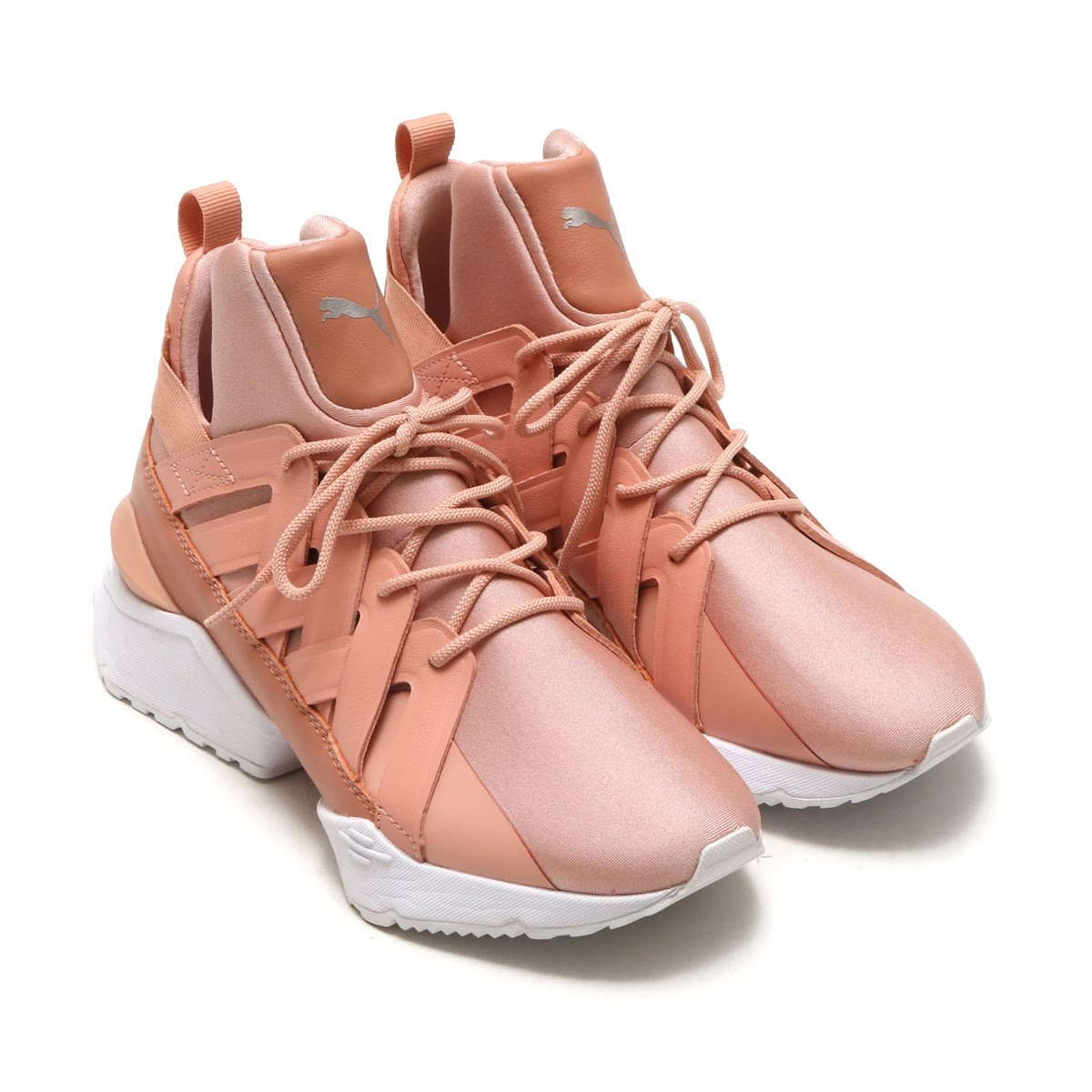 76eb7fda273 Puma Muses echo satin EP women are sneakers of the women size who got  inspiration from elegance and the blessing of the dancer of the new York  City ballet.