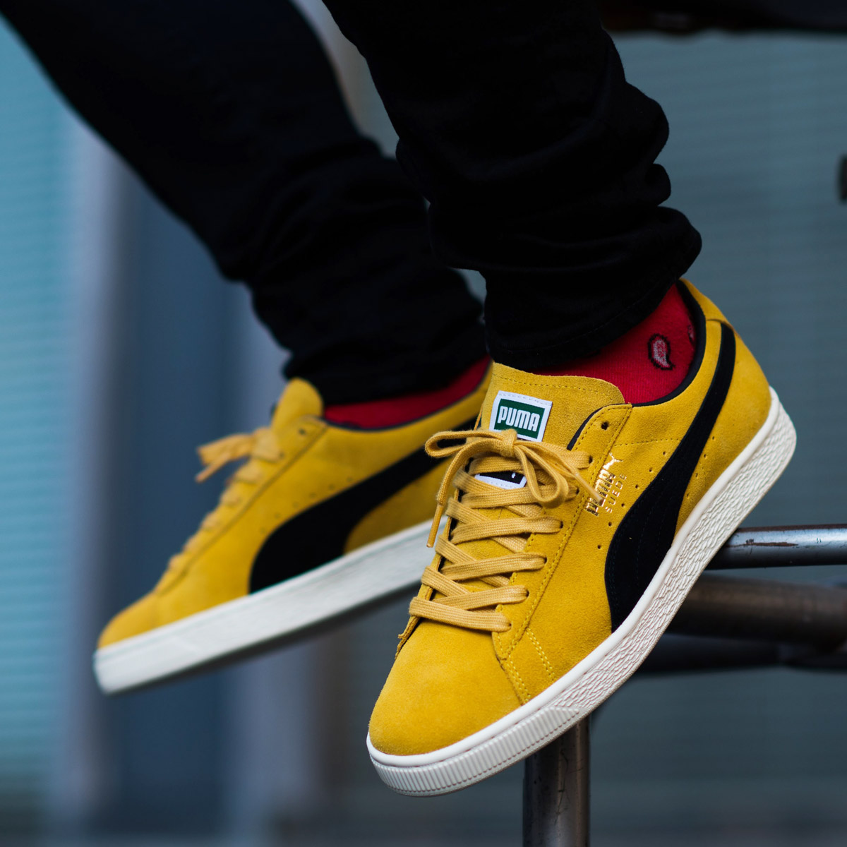 PUMA SUEDE CLASSIC ARCHIVE(プーマ スエード クラシック アーカイブ)(MINERAL YELLO)