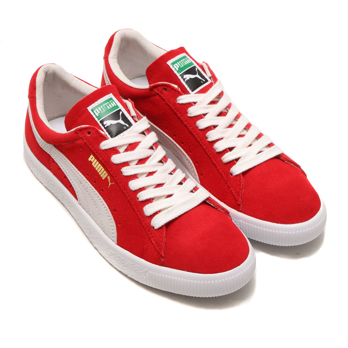 quality design 9b480 5005c PUMA SUEDE 90681 (Puma suede 90681) (RIBBON RED) 18SP-I