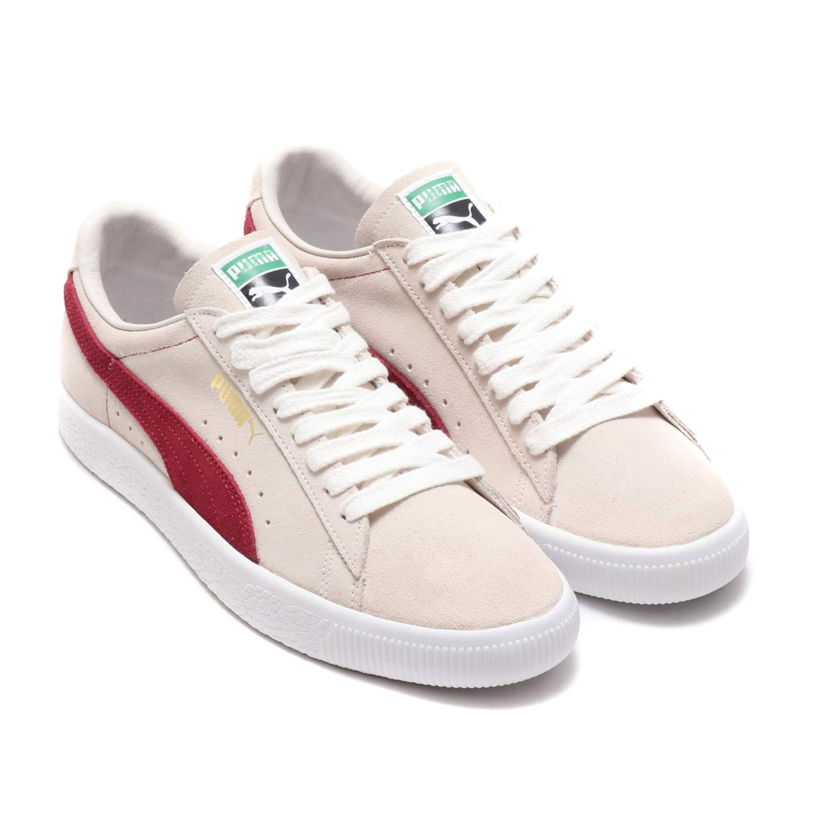 PUMA SUEDE 90681 (プーマ スエード 90682) (WHISPER WHITE)18FW-S