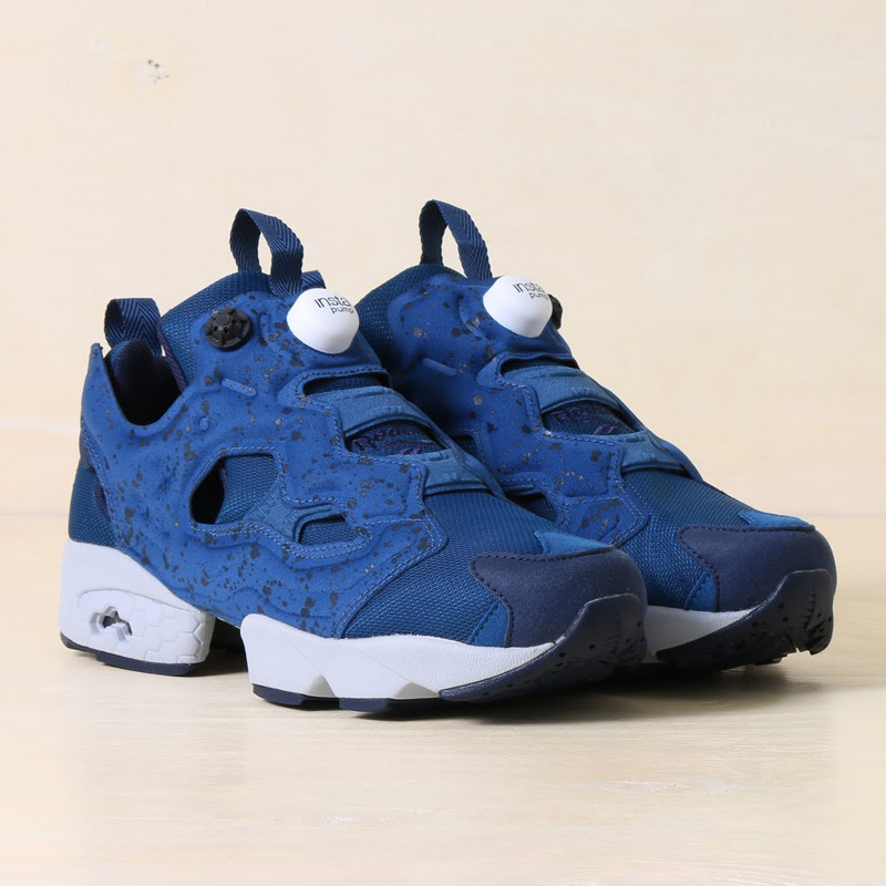 Reebok INSTAPUMP FURY SP(リーボック インスタポンプ フューリー SP)NOBLE BLUE/COLLEGE NAVY/CLOUD GRAY【メンズ レディース スニーカー】 16FW-S