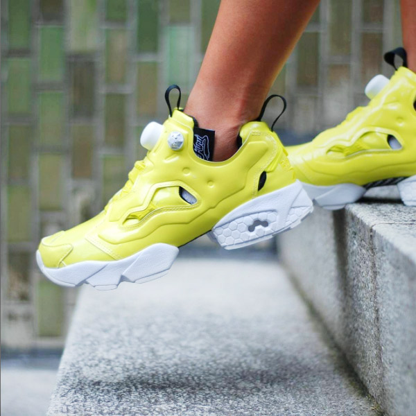78cd359e4bc9df Reebok INSTAPUMP FURY OB (Reebok insta pump fury OB) HERO YELLOW WHITE WHITE  BLACK 16FW-S