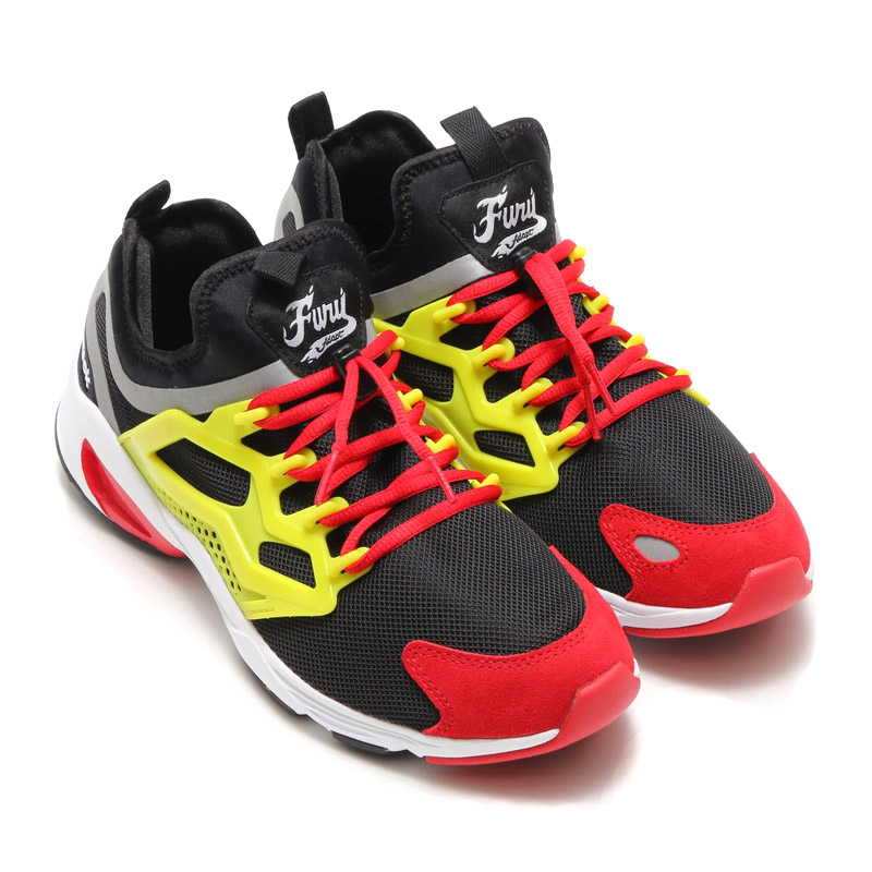 Reebok FURY ADAPT (Reebok fully adapt) BLACK/HYPER GREEN/RED RUSH/WHITE 16FW-I