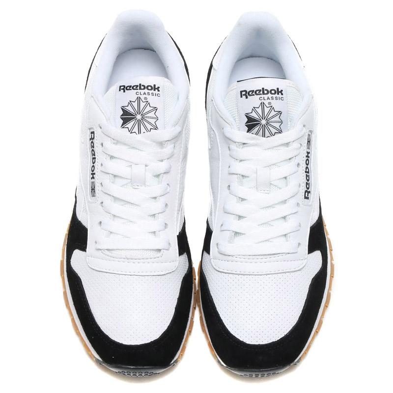 Reebok CL LEATHER SPP (Reebok classic leather SPP) WHITE WHITE BLACK GUM  16FW-I 07212af43e6ab