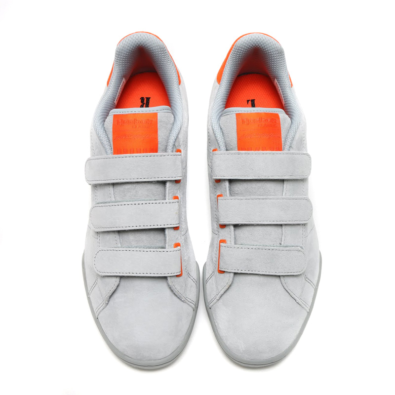 Reebok NPC STRAPS CN (리복 NPC) (BASEBALL GREY/FLAT GREY/ORANGE) 16 FW-I