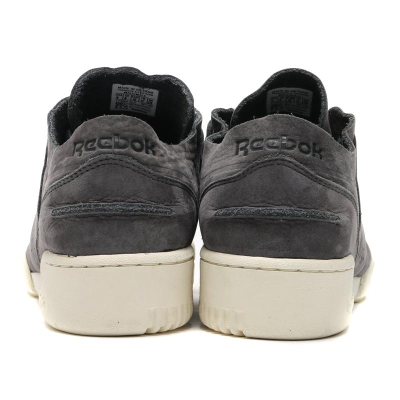 509f9d4efefe0e Reebok WORKOUT LOW CLEAN DU (Reebok workout low clean) SOFT BLACK CREAM  WHITE SUTAKKO BLACK) 16 FW-I