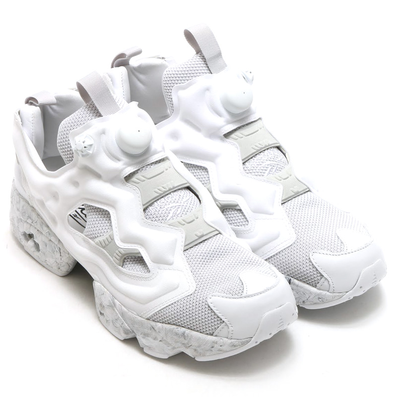 reebok insta pump white