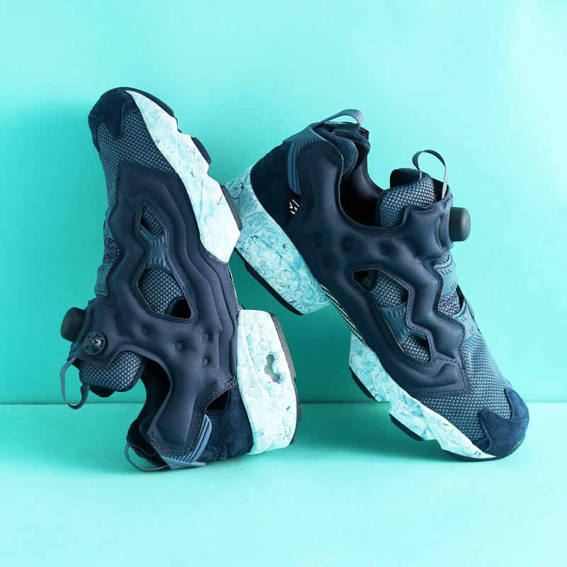 Reebok INSTAPUMP FURY ACHM (リーボックインスタポンプフューリー ACHM) COLLEGE NAVY ROYALSlLATE WHITE WHITE  17SS-S 85e88caba