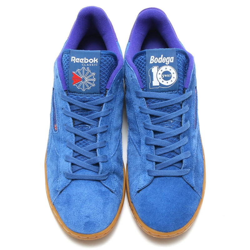 Reebok NPC UK BODEGA (Bodega Reebok NPC UK) LAGOON/MATT GOLD/TEAM PURPLE GUM 16FW-I
