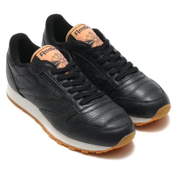 the latest 03d81 ef941 Reebok CL LEATHER BOXING (Reebok classical music leather boxing)  (BLACK BLACK  ...