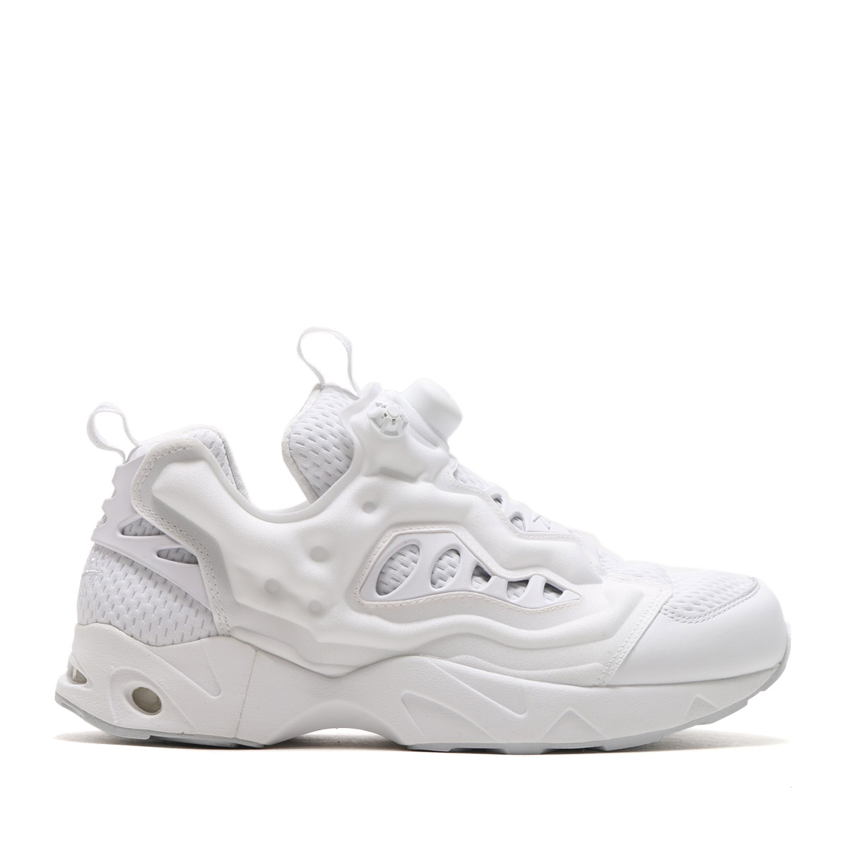reebok instapump fury all white