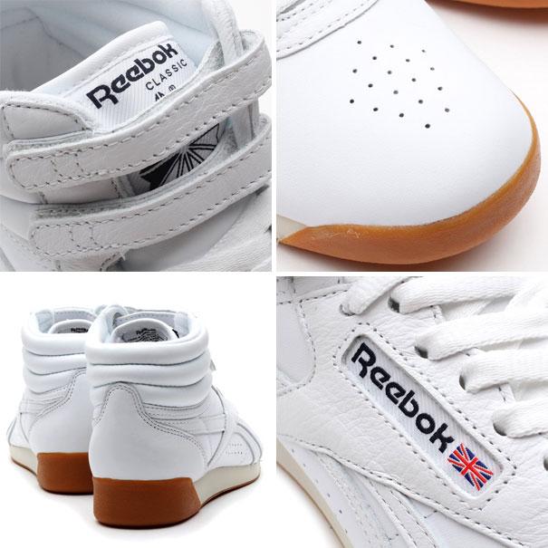 Reebok FREESTYLE HI FITNESS WHITE/PAPERWHITE/ATHLETIC NAVY/GUM 13FW-I