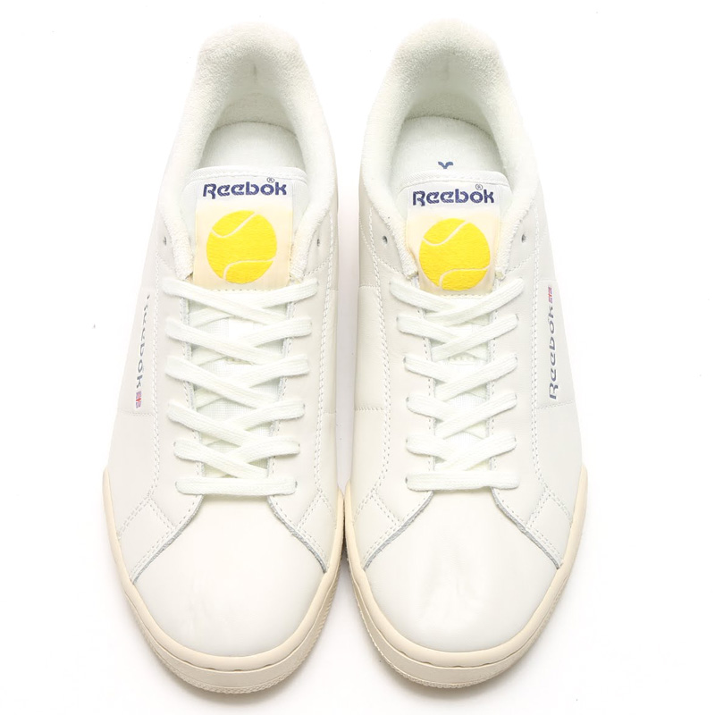 Reebok NPC ENH TB (리복 NPC ENH TB) CHALK/PAPERWHITE/MIDNIGHT BLUE/YELLOW SPARK 16 SS-I