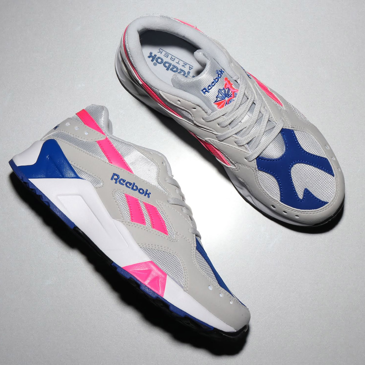 Reebok AZTREK (リーボック アズトレック) (SKULL GRAY/ACID PINK/COLLEGE ROYAL/WHITE/BLACK)18FW-S