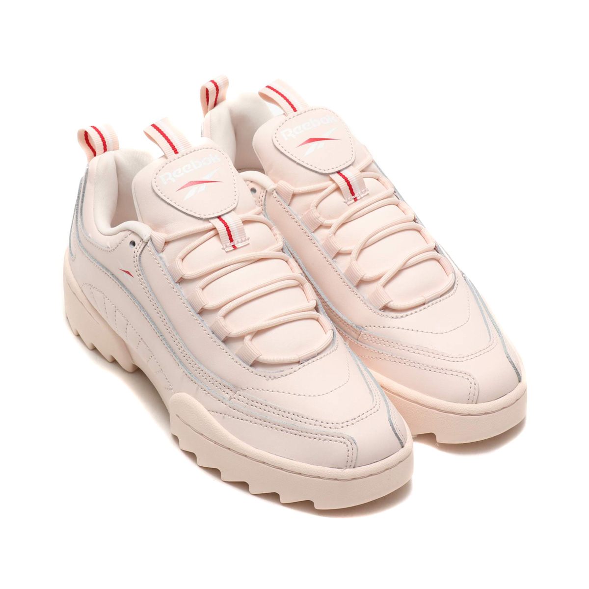 121f4ae0e6a Reebok RIVYX RIPPLE (リーボックリヴィクスリップル) PALE PINK WHITE EXCELLENT RED 18FW-S