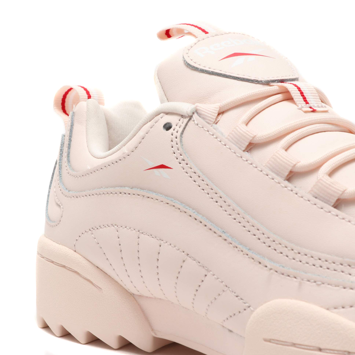 963da3f51be ... Reebok RIVYX RIPPLE (リーボックリヴィクスリップル) PALE PINK/WHITE/EXCELLENT RED ...