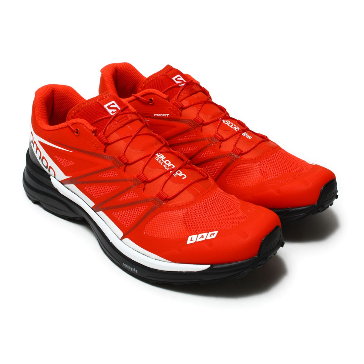 SALOMON S LAB WINGS 8 (Salomon S laboratory Wings 8) RACING REDBLACKWHITE 17SU I