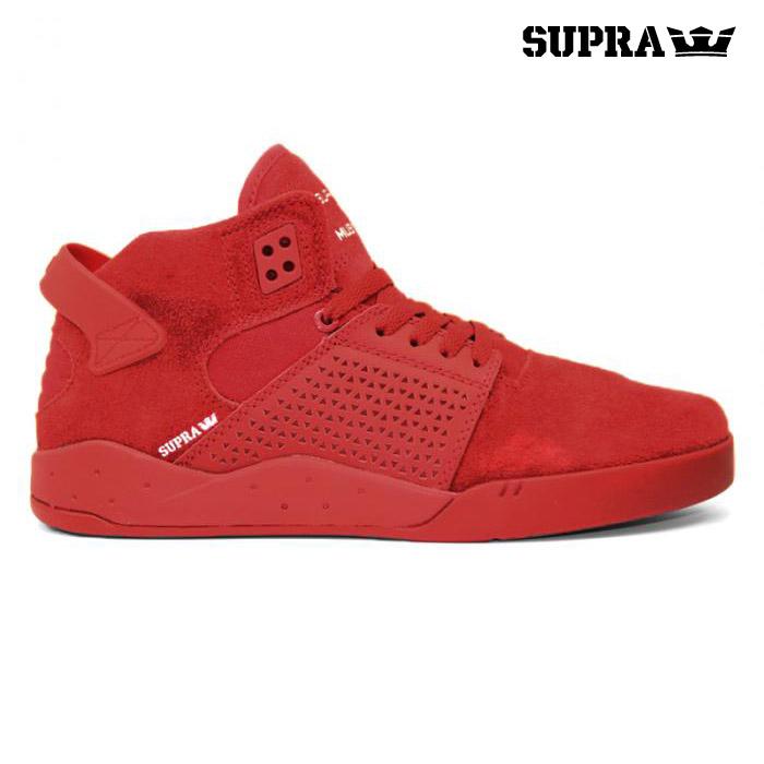 SUPRA SKYTOP(スープラ スカイトップ3)RED-RED【メンズ】【スニーカー】