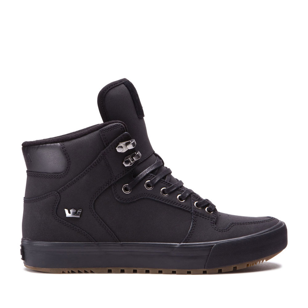 SUPRA VAIDER CW(スープラ ベイダー CW)(BLACK-BLACK/DARK GUM)