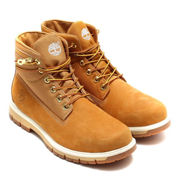 Timberland RADFORD WITH SENSERFLEX TECHNOLOGY 6 inch Roll-Top WHEAT NUBUCK with CAMMO 14FW-I