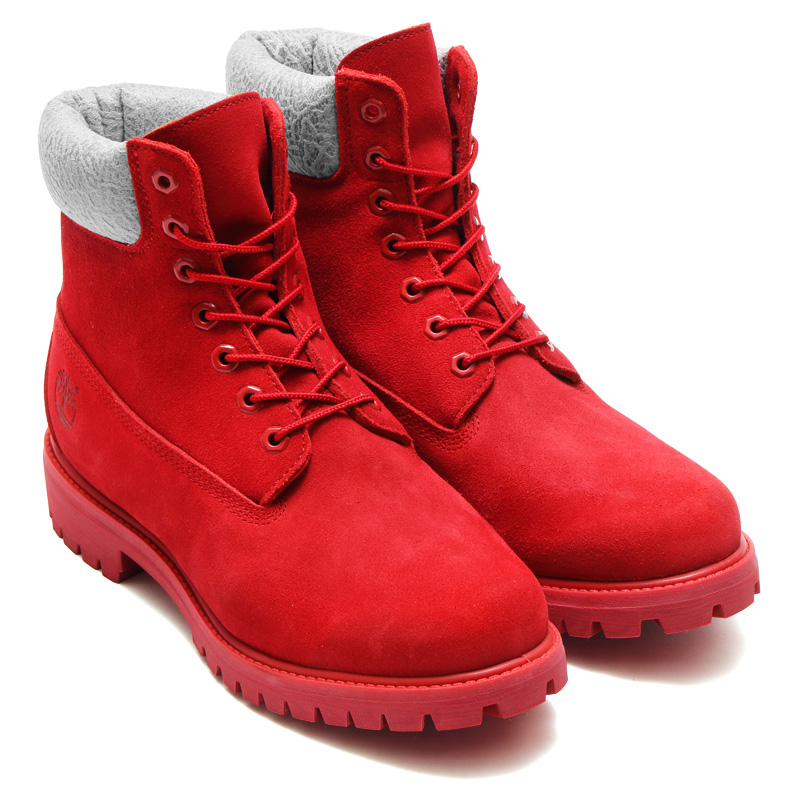 6inch Premium Boots, Timberland for Kinetics (kinetics Timberland 6 inch premium boots) RED