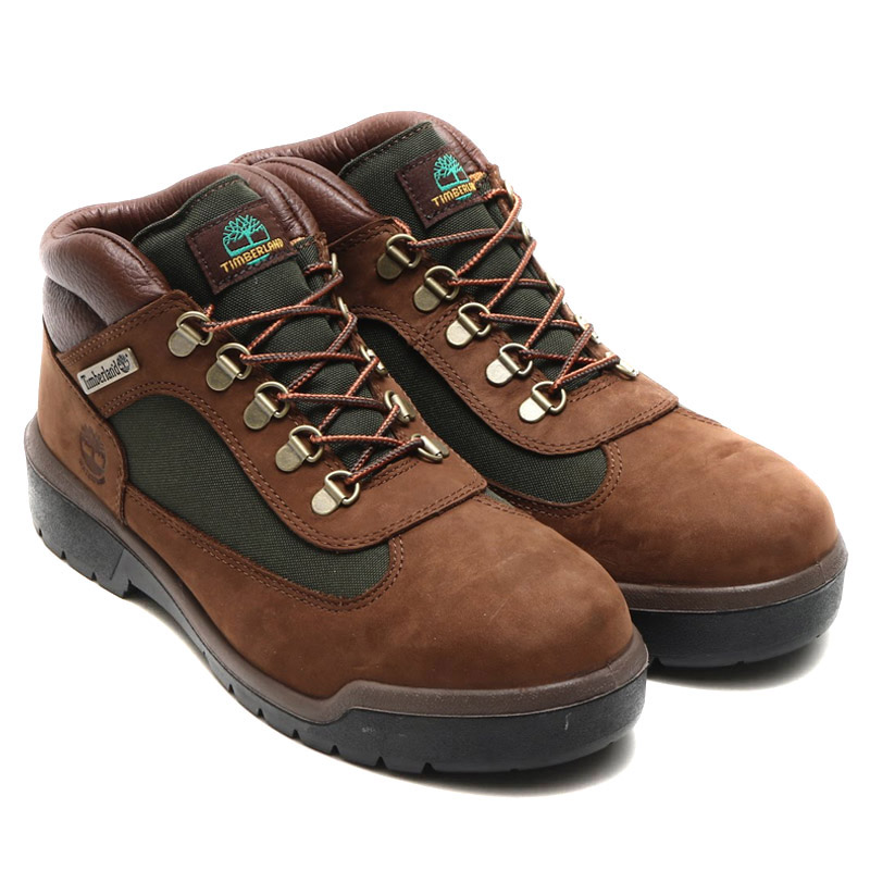 d37b419fcebe24 Timberland FIELD BOOT F L WP (Timberland field boots F L WP) CHOCOLATE OLD  RIVER NUBUCK 16FW-I