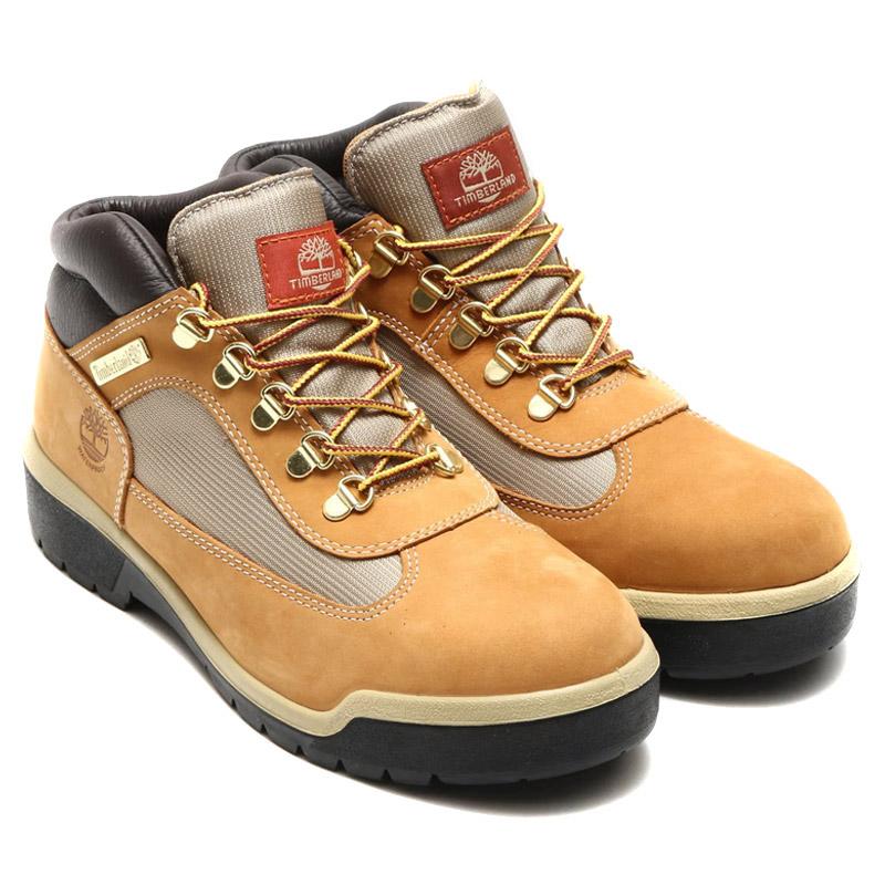 Timberland FIELD BOOT F/L WP (ティンバーランド フィールド ブーツ F/L WP)WHEAT WATERBUCK NUBUCK【メンズ ブーツ】16FW-I