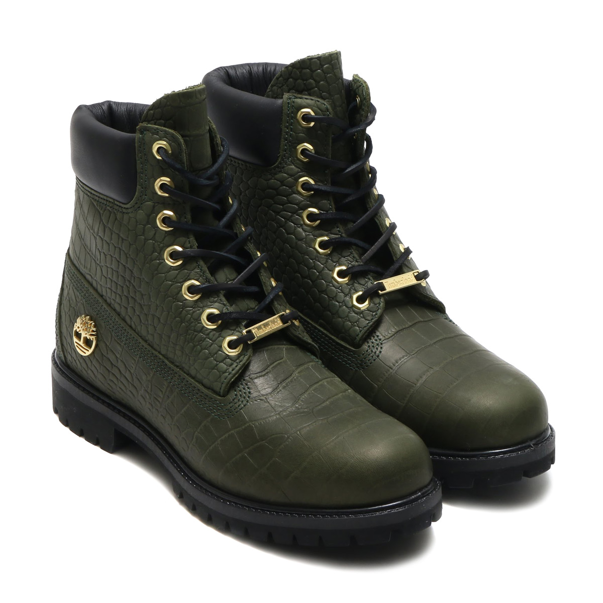 【30%OFF】 Timberland ブーツ)(Green 6