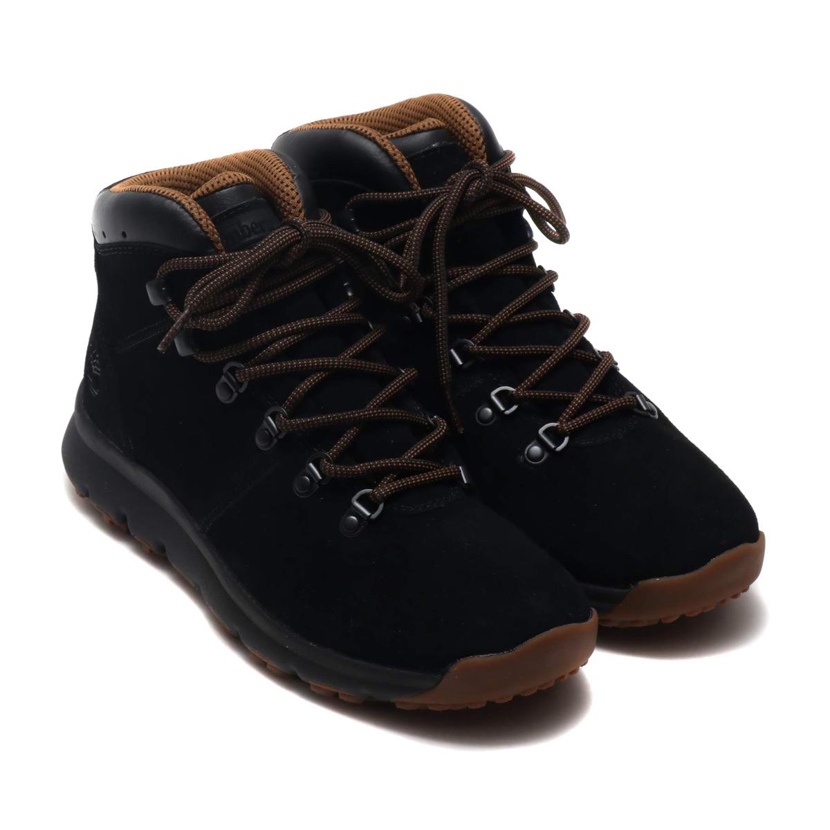 Timberland WORLD HIKER (ティンバーランド ワールド ハイカー)Black Suede【メンズ ブーツ】18FA-I