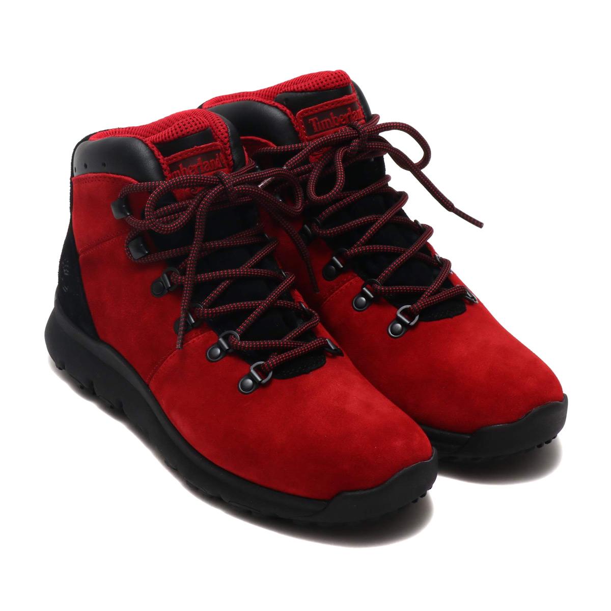 Timberland WORLD HIKER (ティンバーランド ワールド ハイカー)Medium Red Suede【メンズ ブーツ】18FA-I